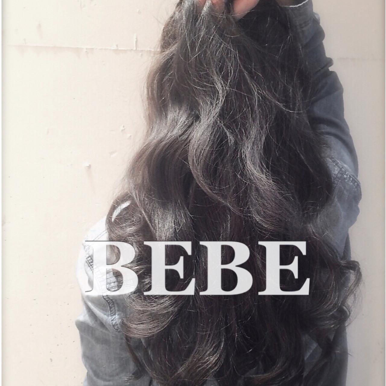 ゆるふわ ナチュラル 暗髪 外国人風 ヘアスタイルや髪型の写真・画像   TAKEMI / BEBE 表参道