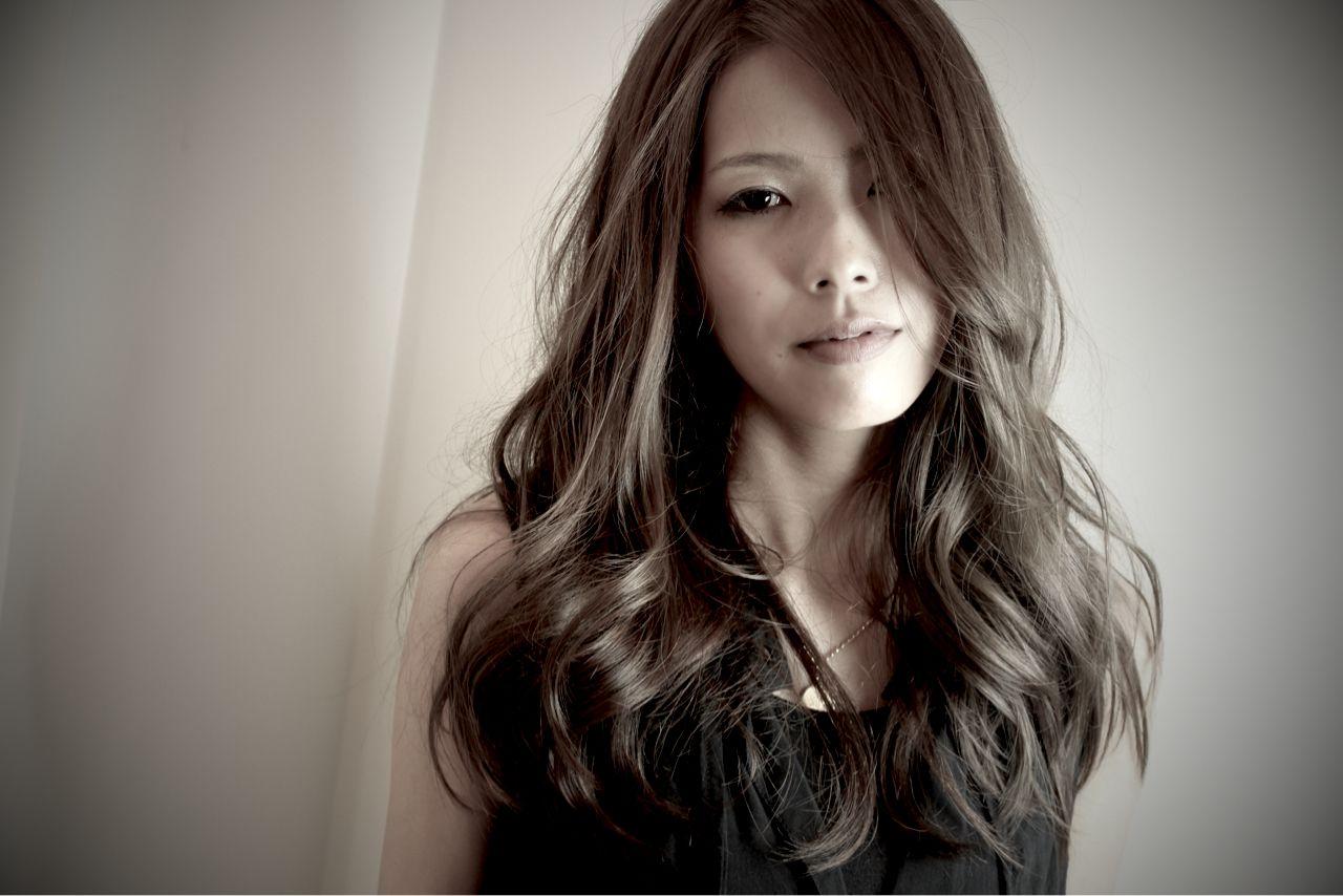 ロング グラマラス 大人女子|LA.DONNA ADDESSO むぎ 23848【HAIR】