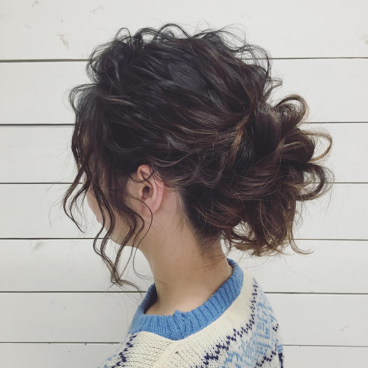 ヘアアレンジ アップスタイル ルーズ 外国人風 ヘアスタイルや髪型の写真・画像 | nokura mai / Grandir
