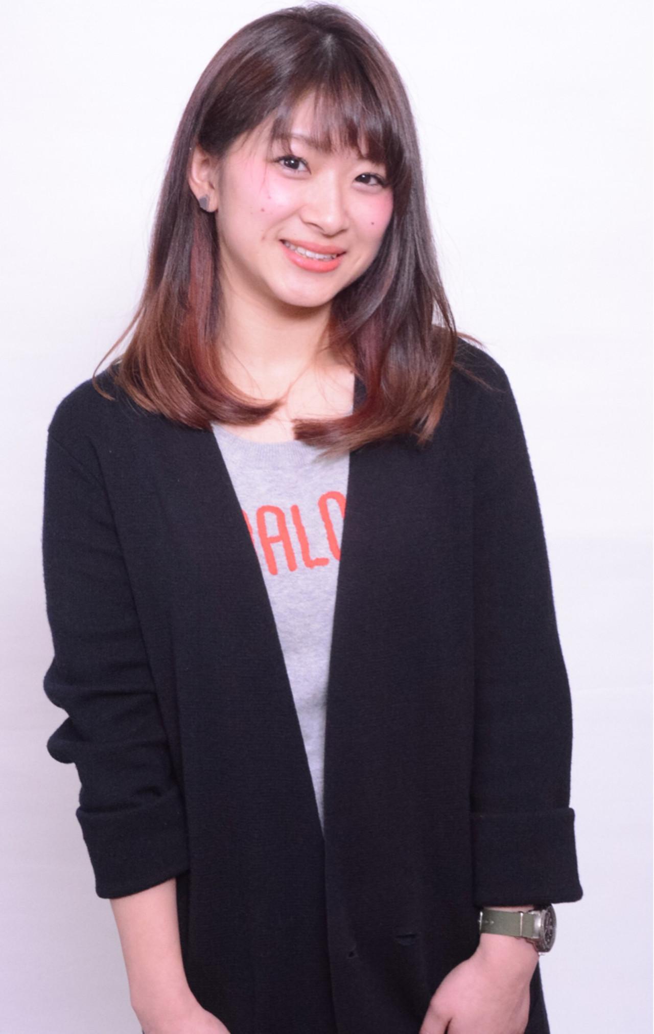 オン眉 外国人風 グラデーションカラー ハイライト ヘアスタイルや髪型の写真・画像 | 瀧田 喬 / onebyoneCLACCA