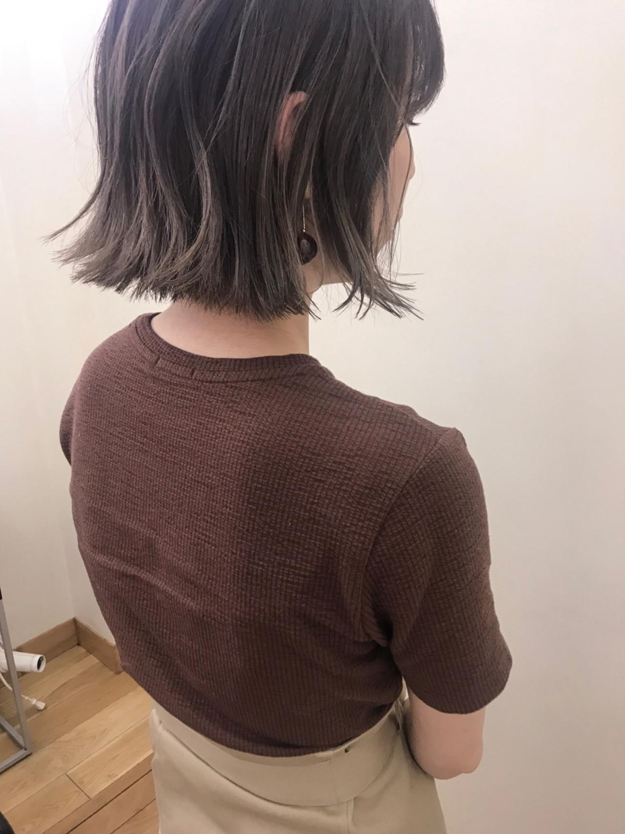 ナチュラル ハイライト ブリーチ デート ヘアスタイルや髪型の写真・画像   yumiko/sapporoSKNOW / SKNOW