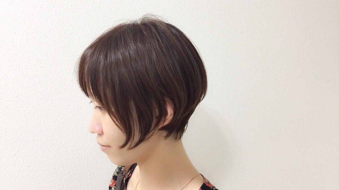 オフィス 女子力 似合わせ 小顔 ヘアスタイルや髪型の写真・画像 | Taniguchi Yukiko / IRODORI hair design