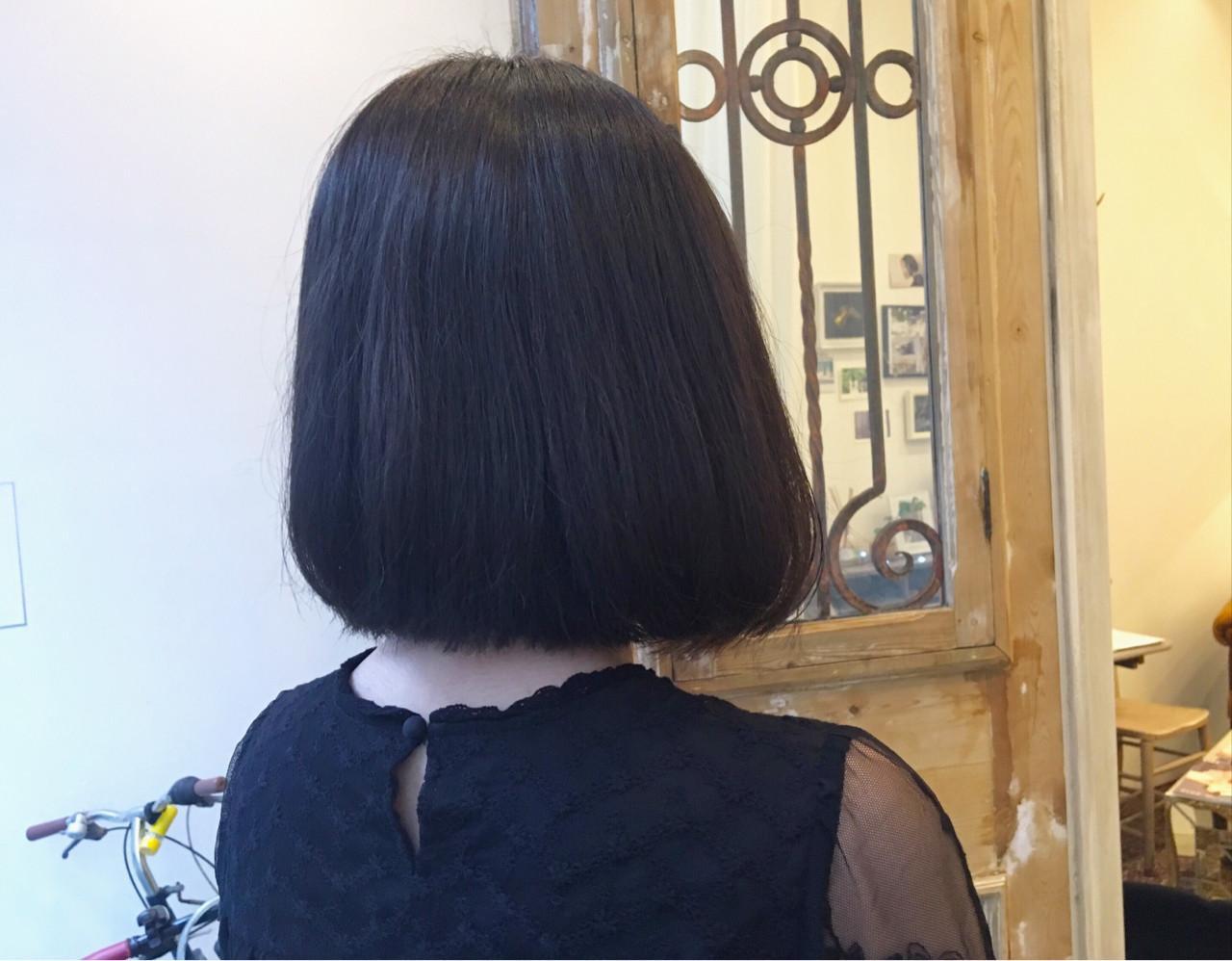 ボブ 夏 透明感 春 ヘアスタイルや髪型の写真・画像