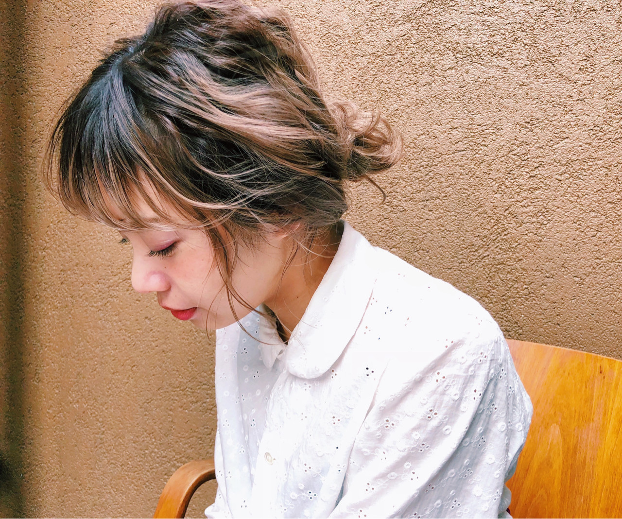 簡単ヘアアレンジ ゆるふわ アンニュイ ヘアアレンジ ヘアスタイルや髪型の写真・画像 | 浜本 忠勝 / whyte