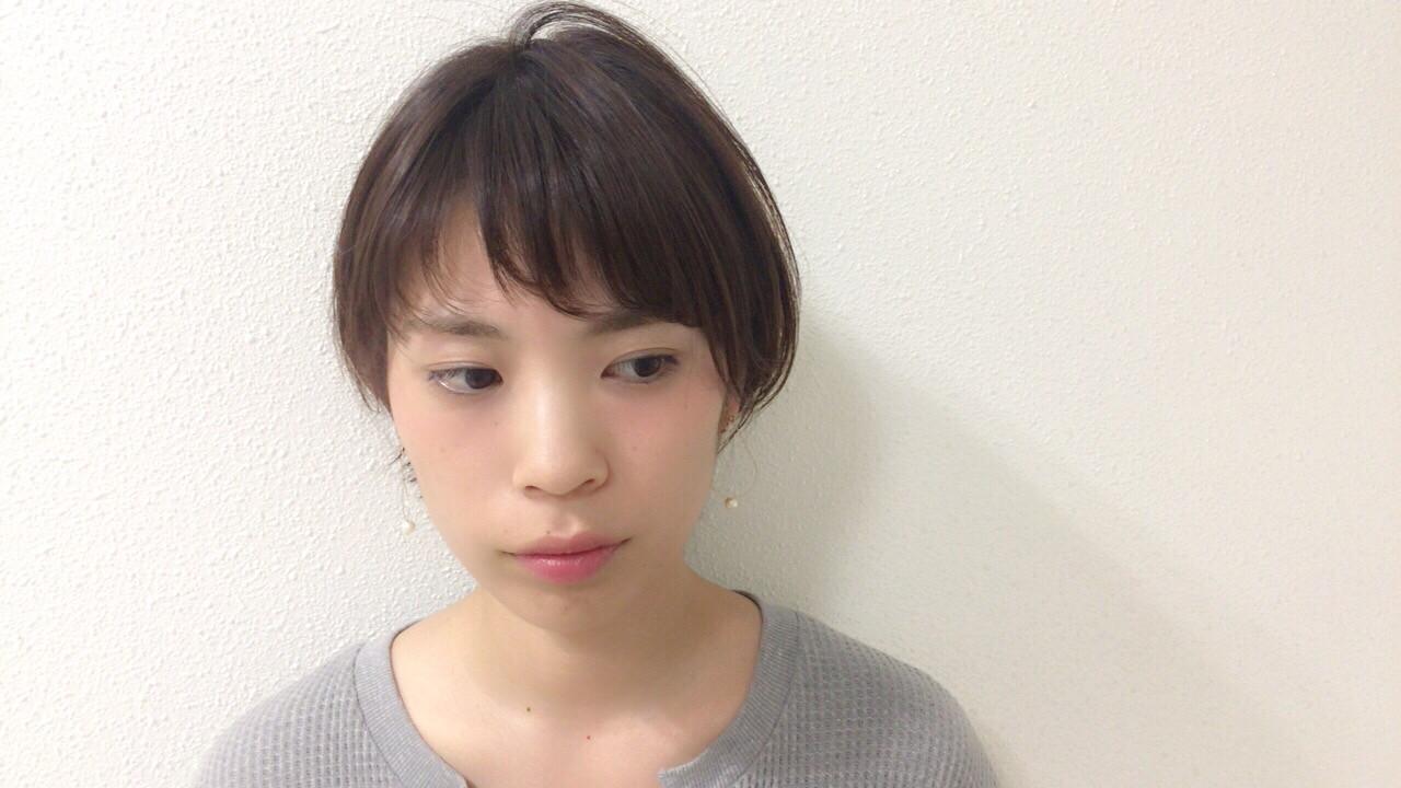 似合わせ フェミニン ナチュラル スポーツ ヘアスタイルや髪型の写真・画像 | Taniguchi Yukiko / IRODORI hair design