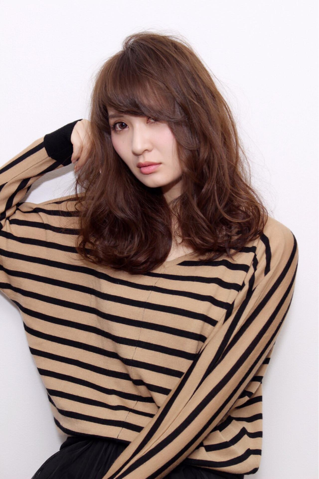 外国人風 ストリート ガーリー ナチュラル ヘアスタイルや髪型の写真・画像 | 藤後 沙織 /
