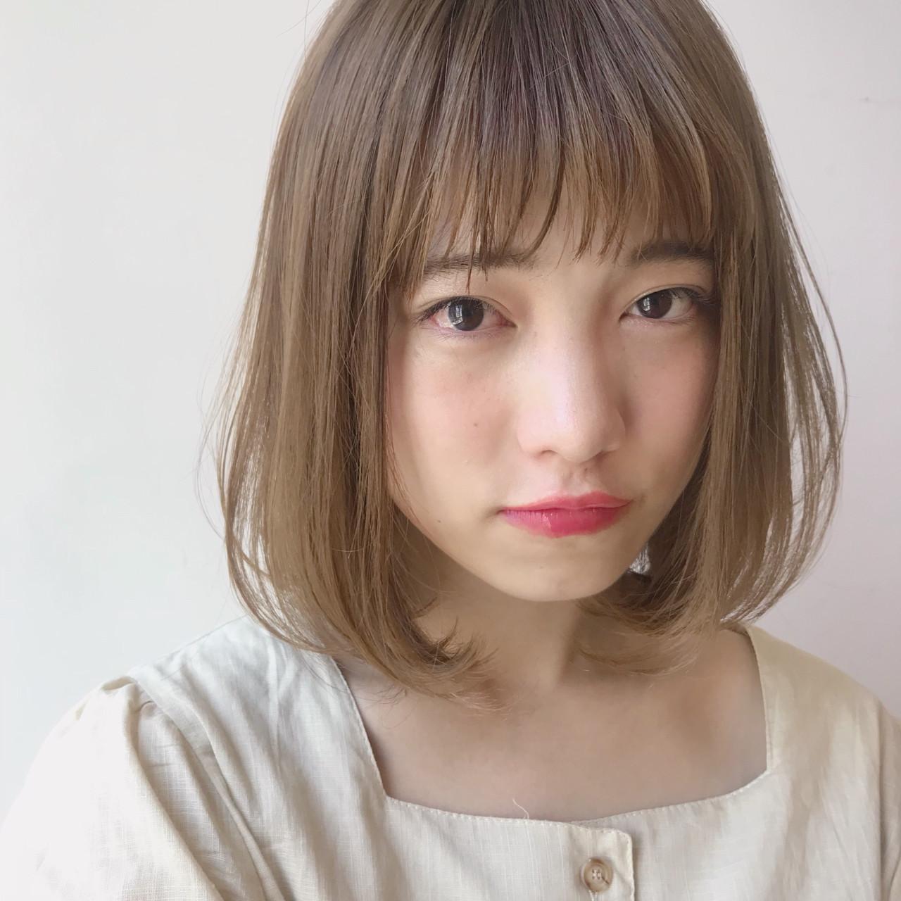 モテ髪 デート かわいい 透明感 ヘアスタイルや髪型の写真・画像 | 矢野佑太郎 / GARDEN harajuku