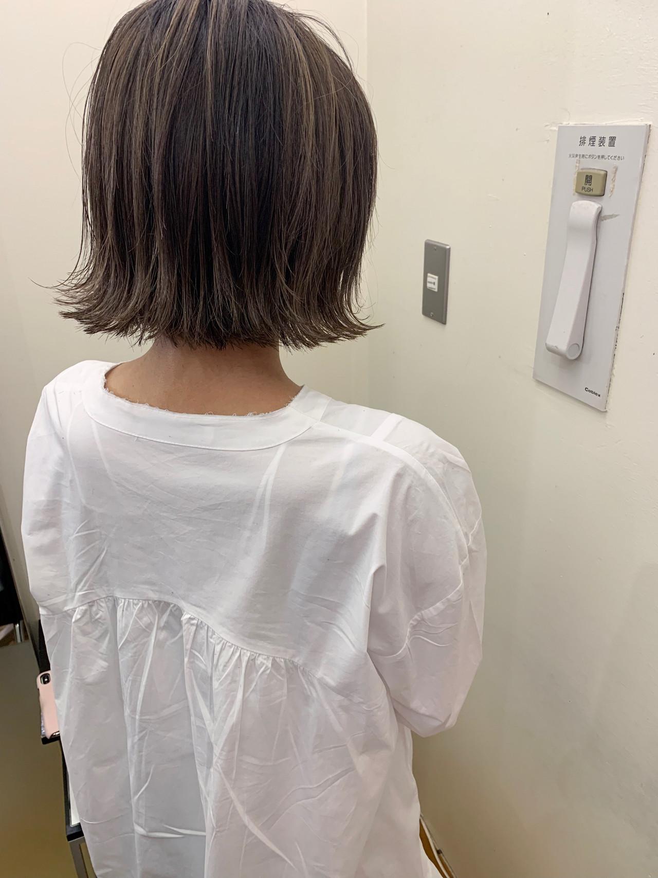ボブ 外国人風 デート ゆるふわ ヘアスタイルや髪型の写真・画像 | yumiko/sapporoSKNOW / SKNOW