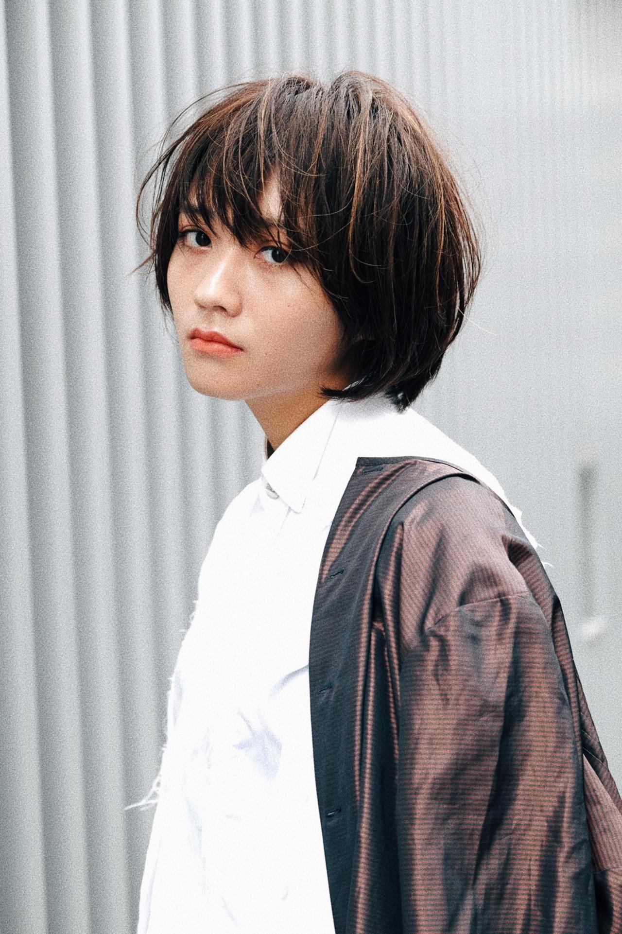 ミニボブ 阿藤俊也 PEEK-A-BOO ボブ ヘアスタイルや髪型の写真・画像