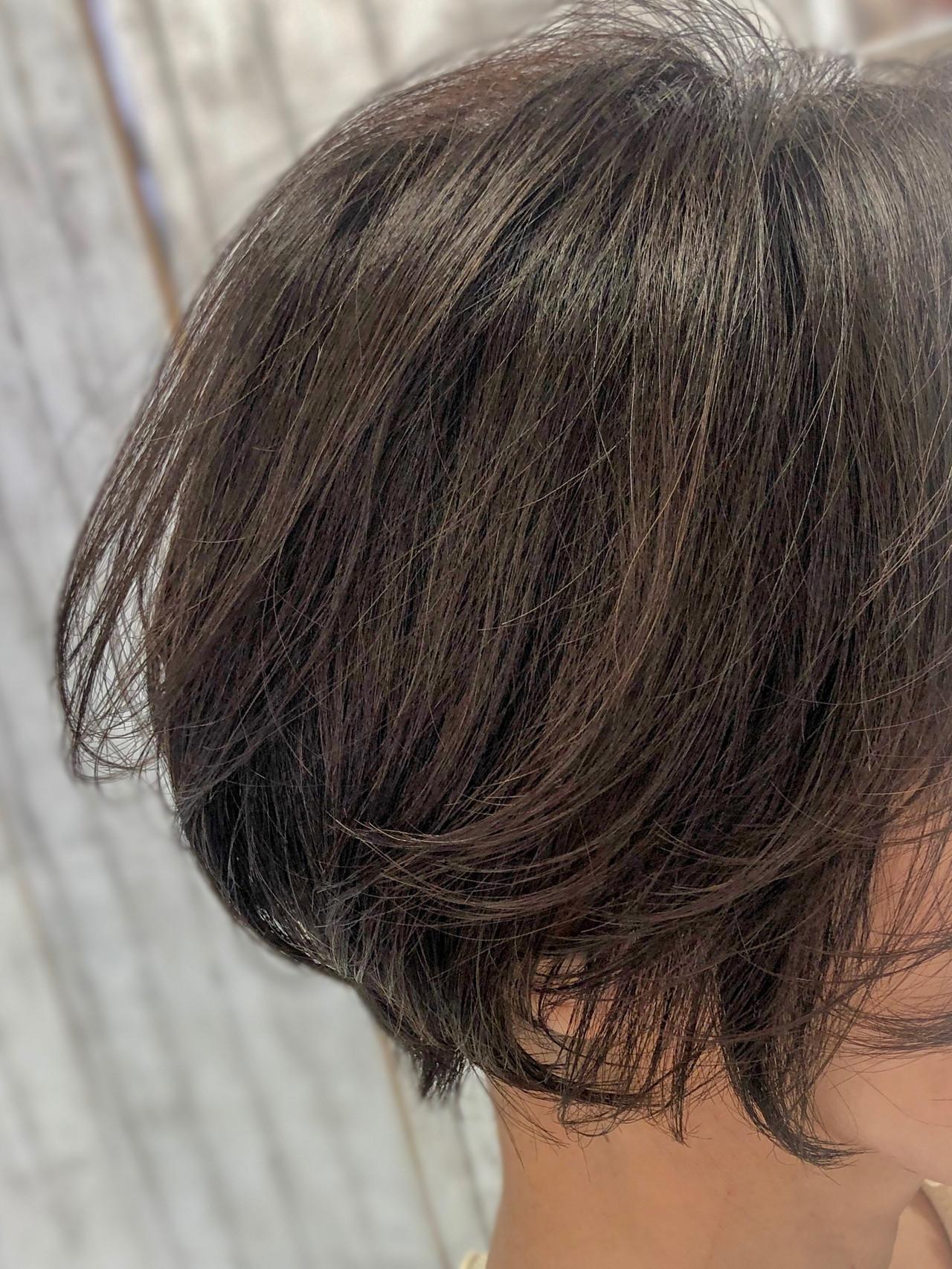 フェミニン ショートボブ マッシュショート ショート ヘアスタイルや髪型の写真・画像 | 北川友理 / unsung