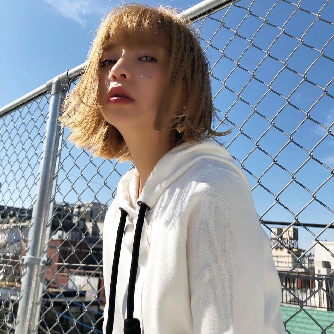 スポーツ アウトドア デート ストリート ヘアスタイルや髪型の写真・画像