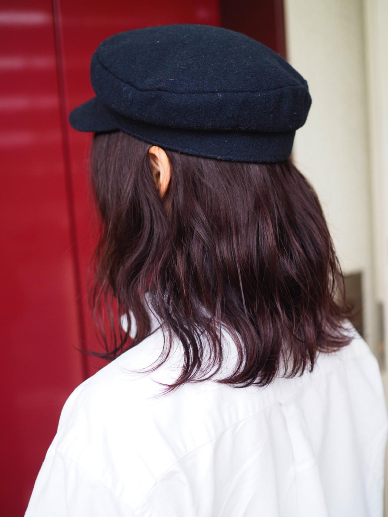 アンニュイ ナチュラル ウェーブ ボブ ヘアスタイルや髪型の写真・画像   西村涼 / airsalon