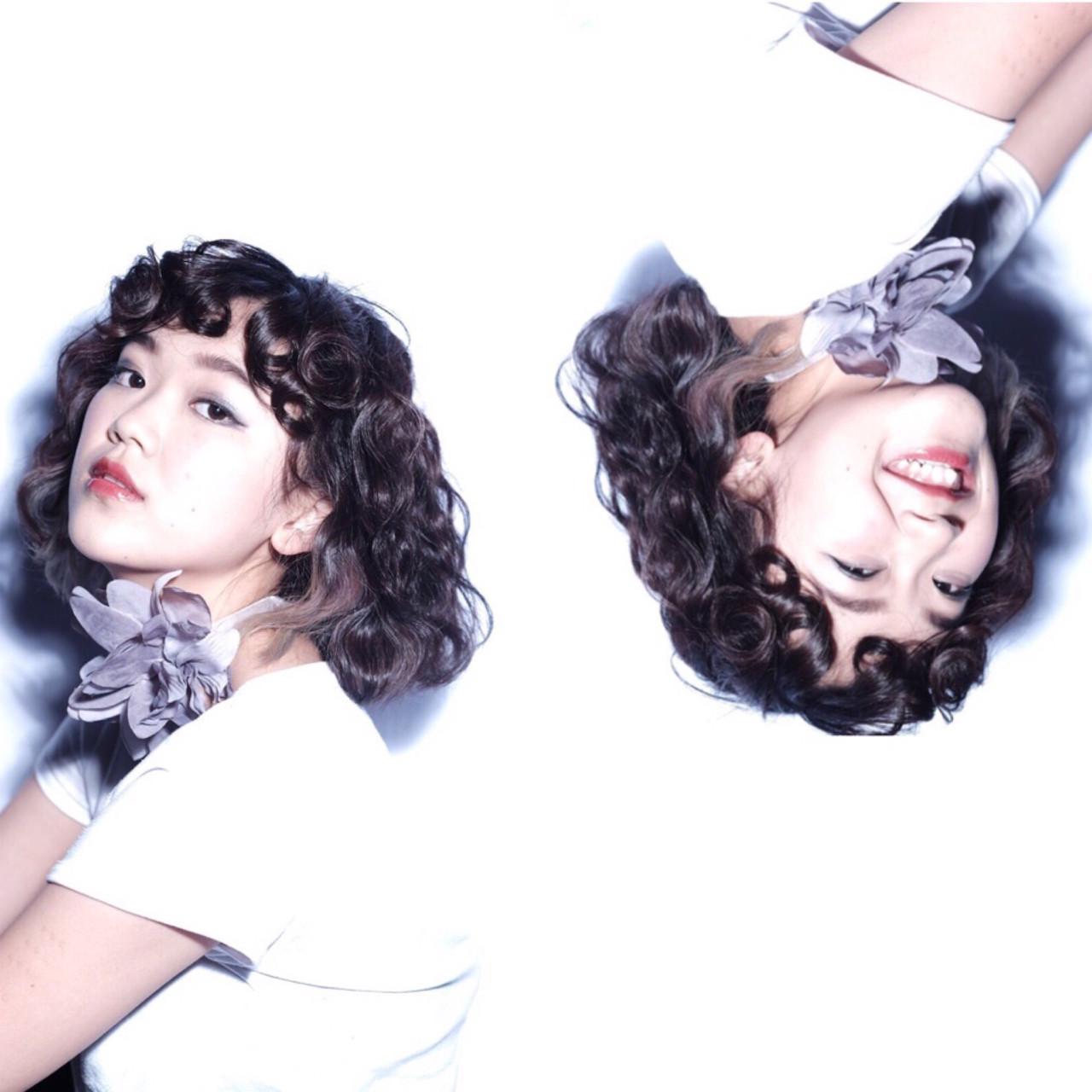 ナチュラル 黒髪 ピュア グラデーションカラー ヘアスタイルや髪型の写真・画像
