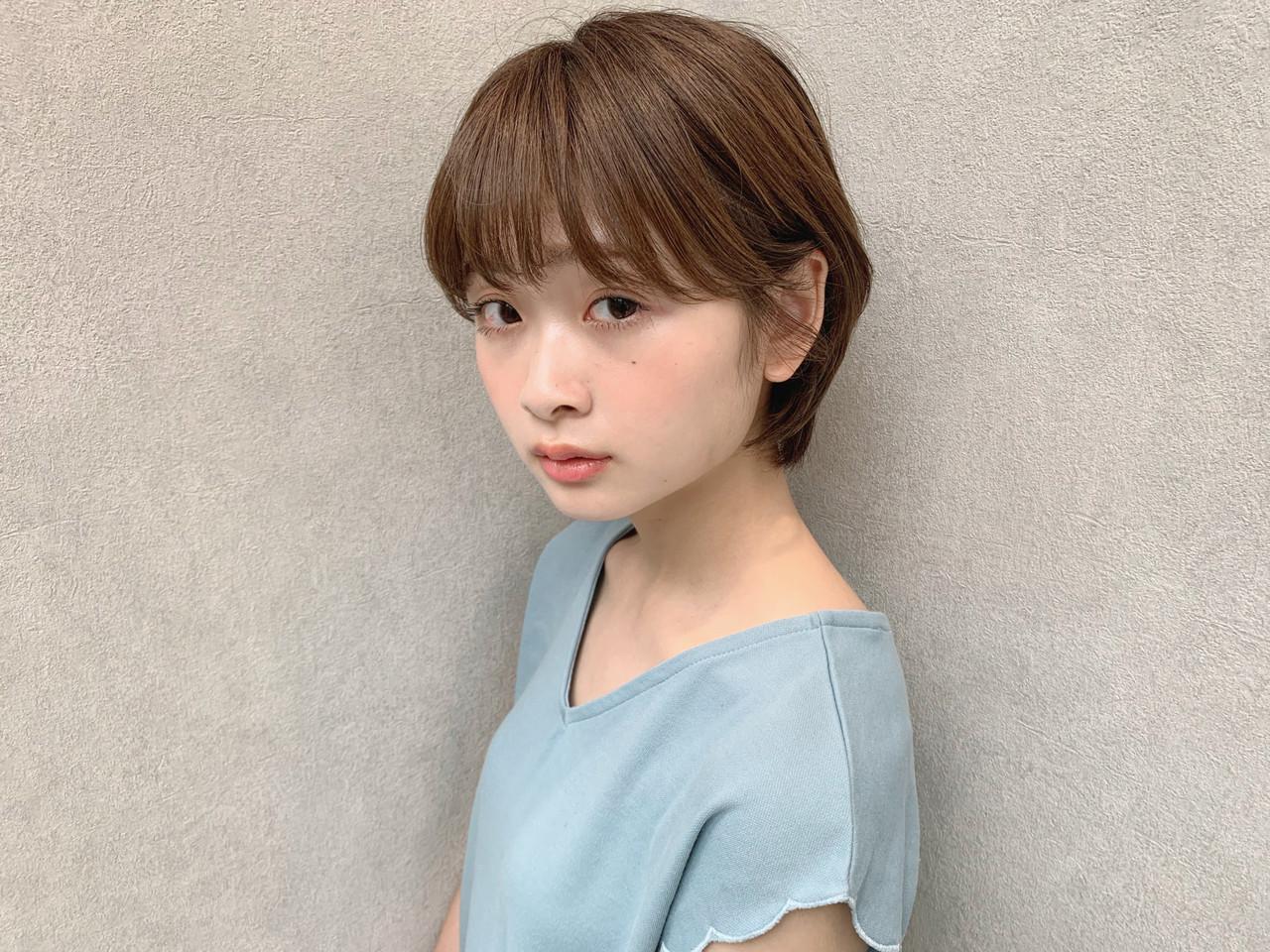 ショート アウトドア デート パーマ ヘアスタイルや髪型の写真・画像   石田浩之 / lano by hair