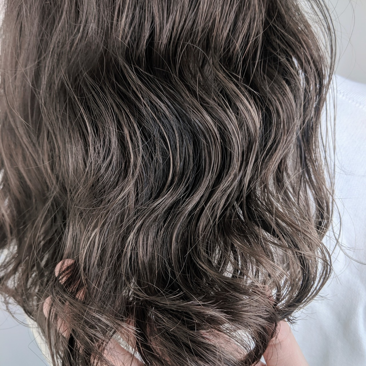ウェーブ ナチュラル ロング 透明感 ヘアスタイルや髪型の写真・画像
