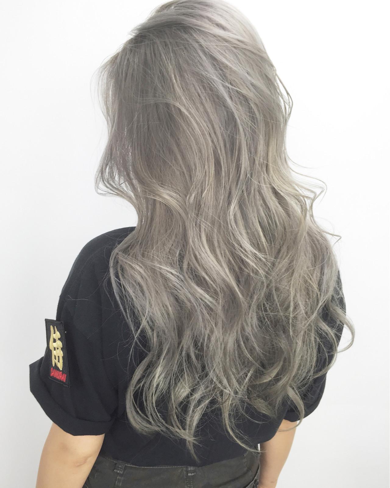 ロング 大人かわいい ストリート ゆるふわ ヘアスタイルや髪型の写真・画像 | 柴田 夏実 / ALBUM