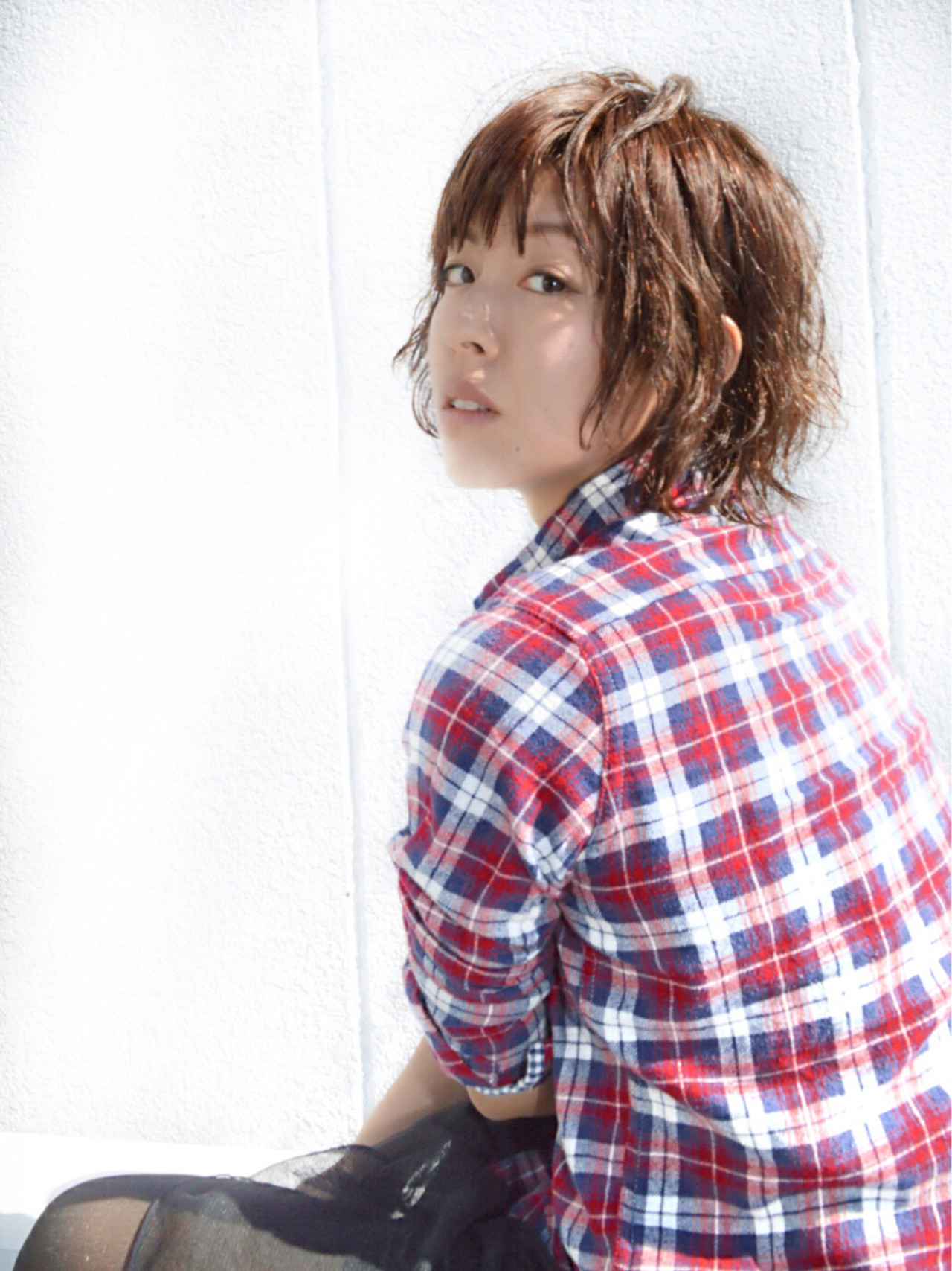 ストリート ゆるふわ 大人女子 レイヤーカット ヘアスタイルや髪型の写真・画像 | カラーリスト・YuuKi Sekimoto / wherever