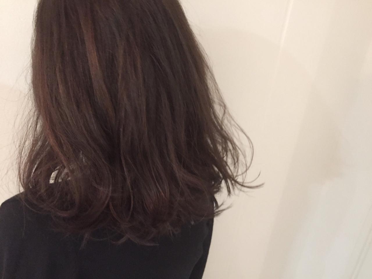 ストリート アッシュ セミロング ハイライト ヘアスタイルや髪型の写真・画像 | 上田友康 / DiLL