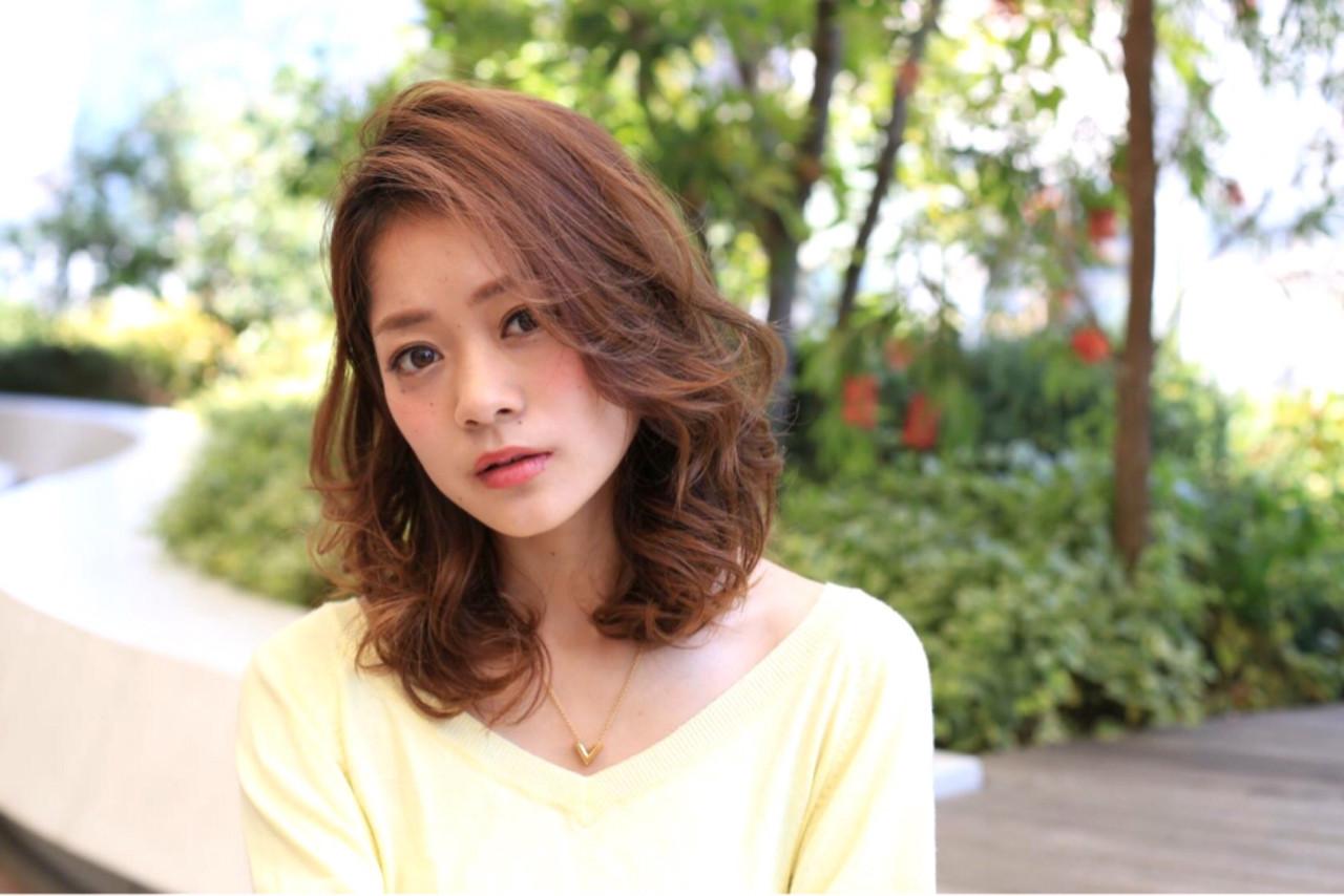 外国人風 ヘアアレンジ ピュア ガーリー ヘアスタイルや髪型の写真・画像