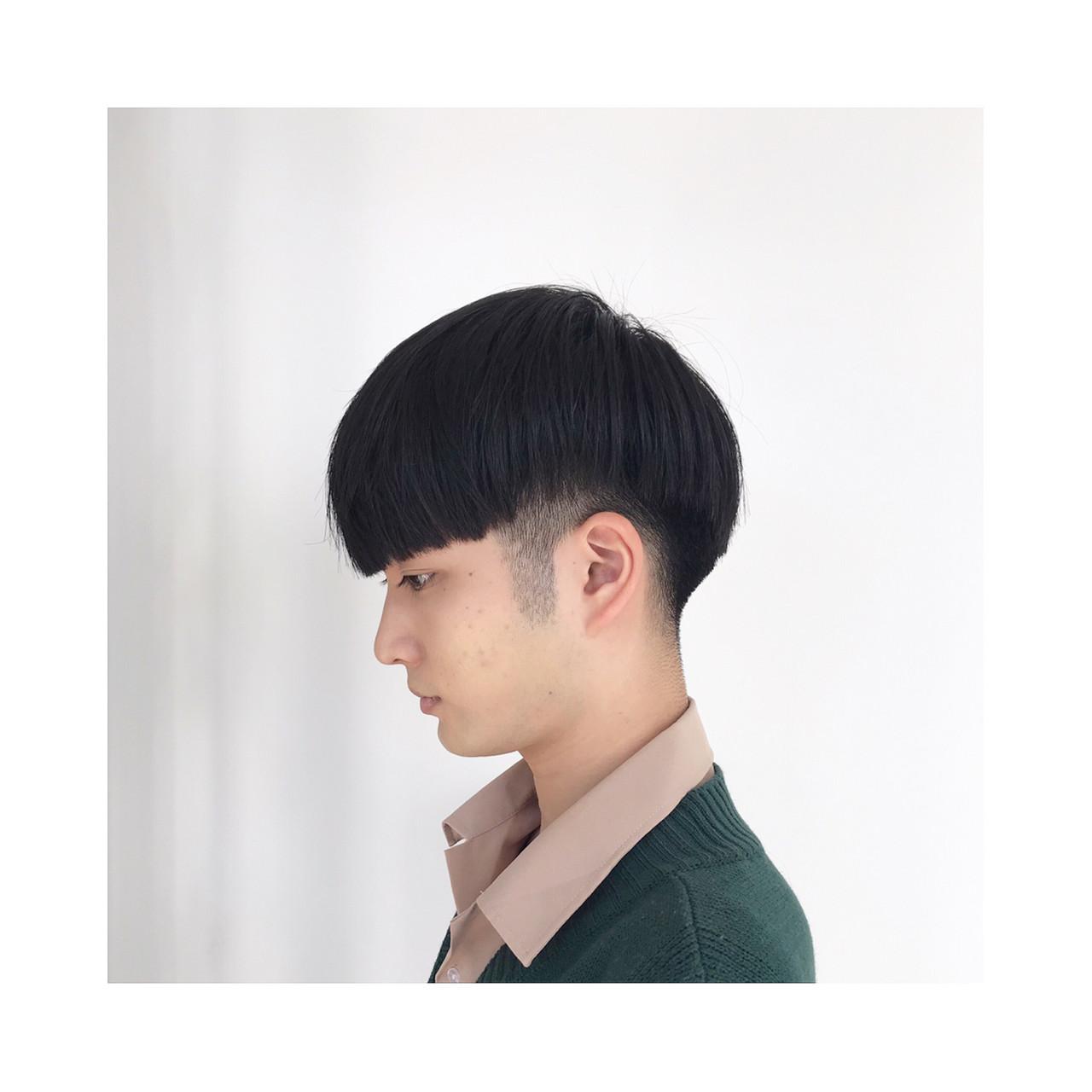 ショート 韓国ヘア メンズマッシュ メンズカット ヘアスタイルや髪型の写真・画像