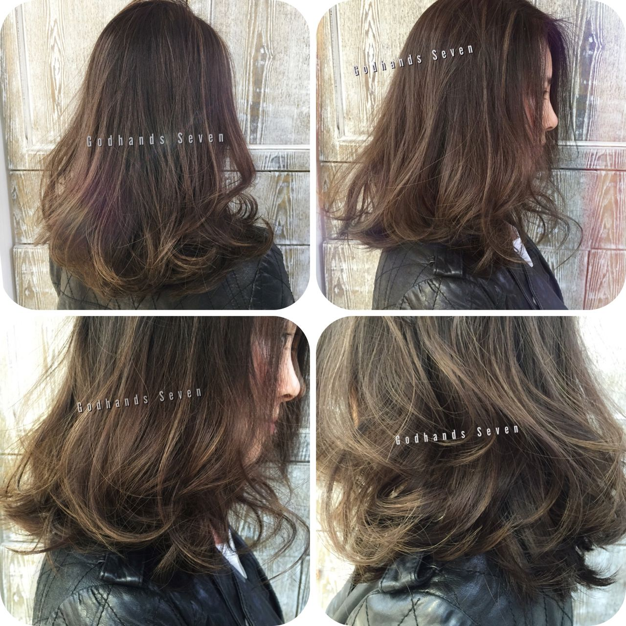 ウェットヘア ストリート ショート 暗髪 ヘアスタイルや髪型の写真・画像
