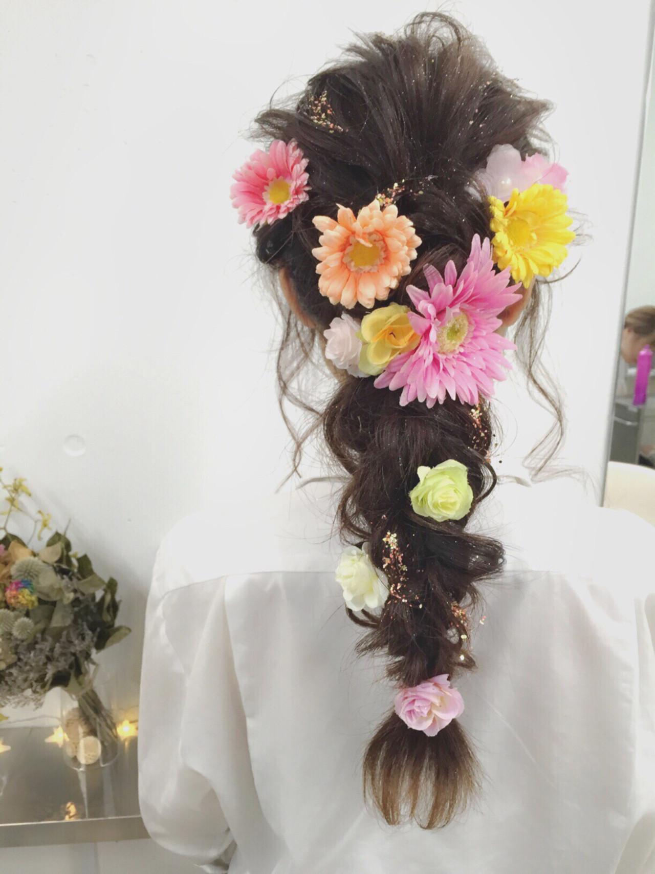 ショート 簡単ヘアアレンジ ハーフアップ ゆるふわ ヘアスタイルや髪型の写真・画像 | MOTAI / Wille / Wille