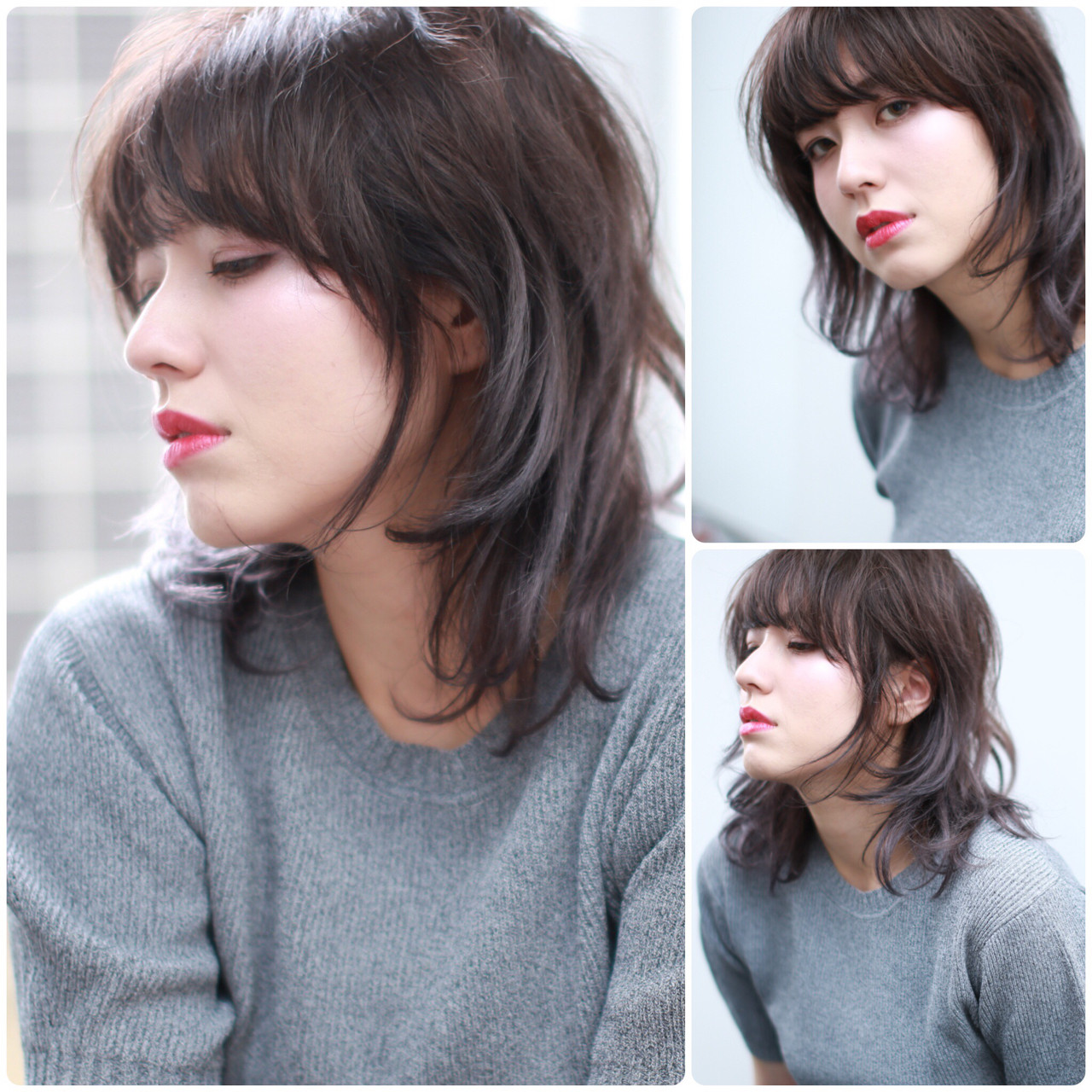 爽やか ウルフカット 外国人風カラー アンニュイ ヘアスタイルや髪型の写真・画像 | イマムラ スナオ / LUKE