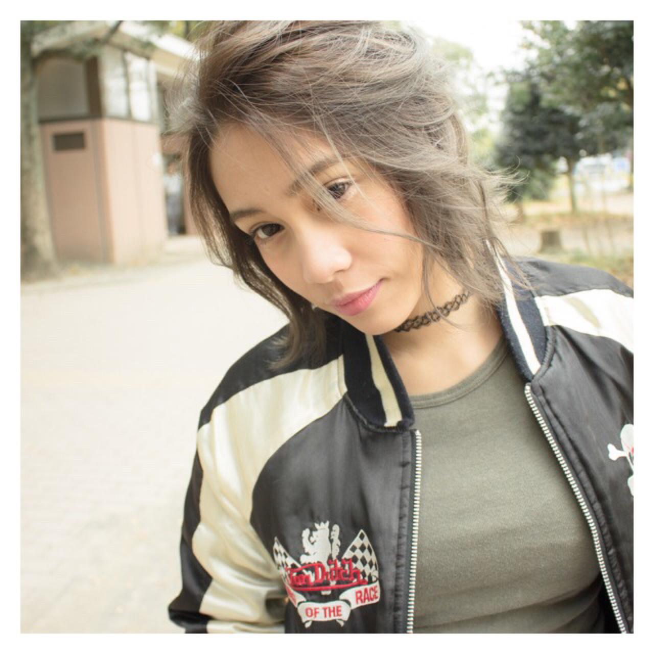 大人女子 こなれ感 外国人風 小顔 ヘアスタイルや髪型の写真・画像