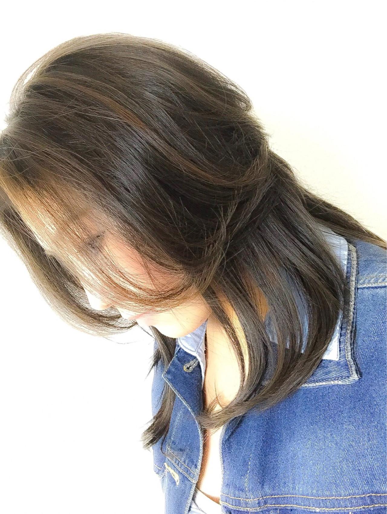 黒髪 エレガント 上品 イルミナカラー ヘアスタイルや髪型の写真・画像 | 村上 寛人 ムラカミ ヒロト / hair therapy Sara (ヘアー セラピー サラ)