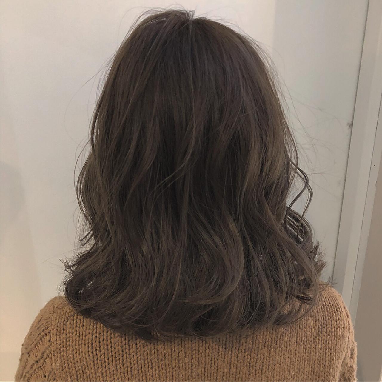 透明感 大人かわいい ナチュラル オルチャン ヘアスタイルや髪型の写真・画像   犬島麻姫子 / fosta