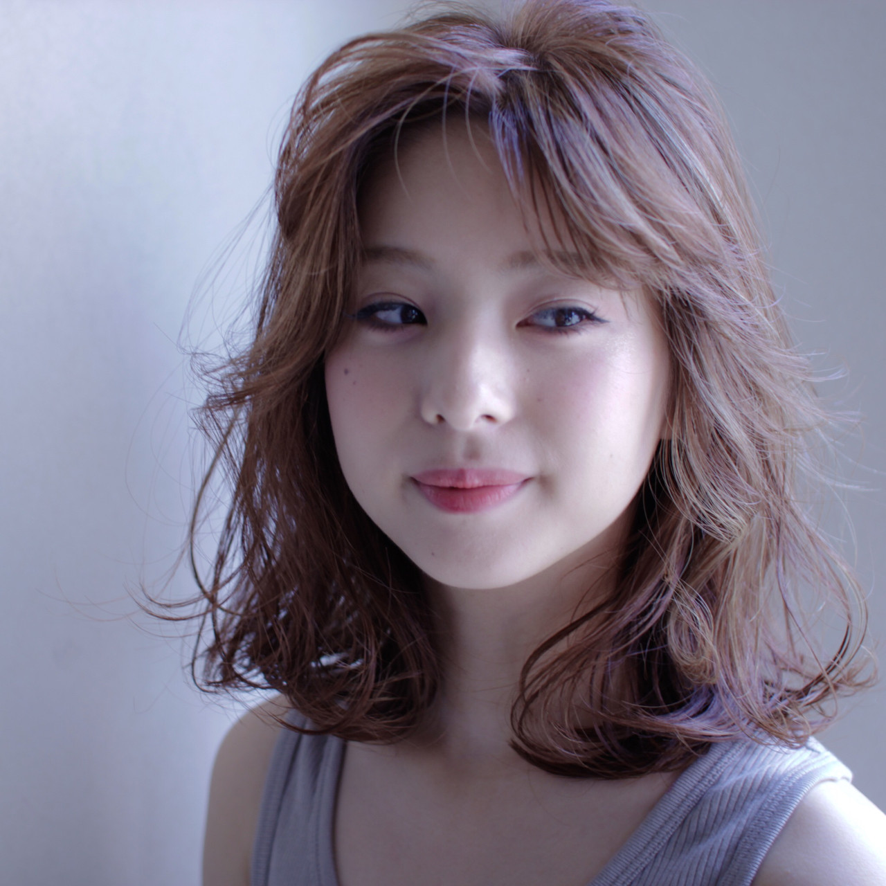 ナチュラル ピュア 色気 ミディアム ヘアスタイルや髪型の写真・画像 | 吉田将大 / chillo