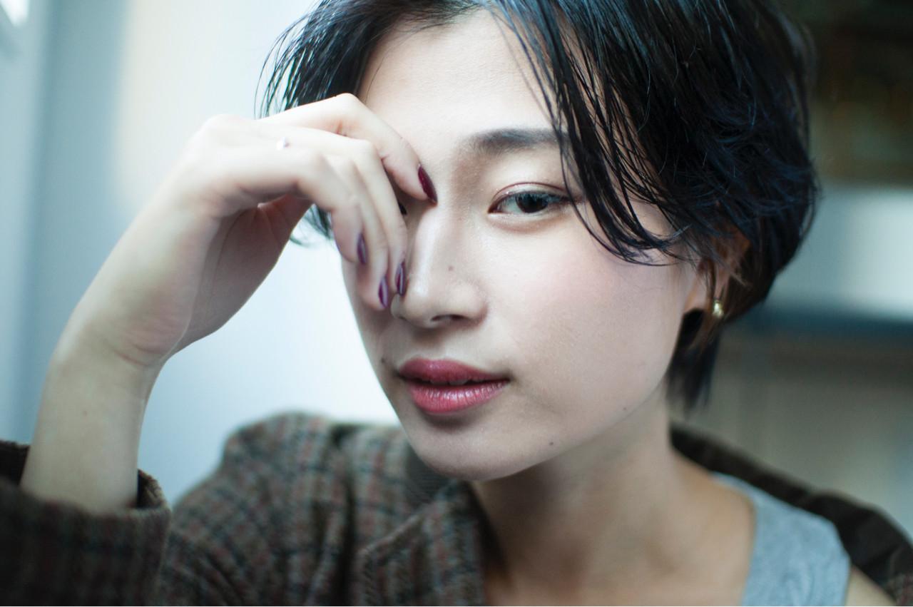 外国人風カラー 簡単ヘアアレンジ こなれ感 ナチュラル ヘアスタイルや髪型の写真・画像