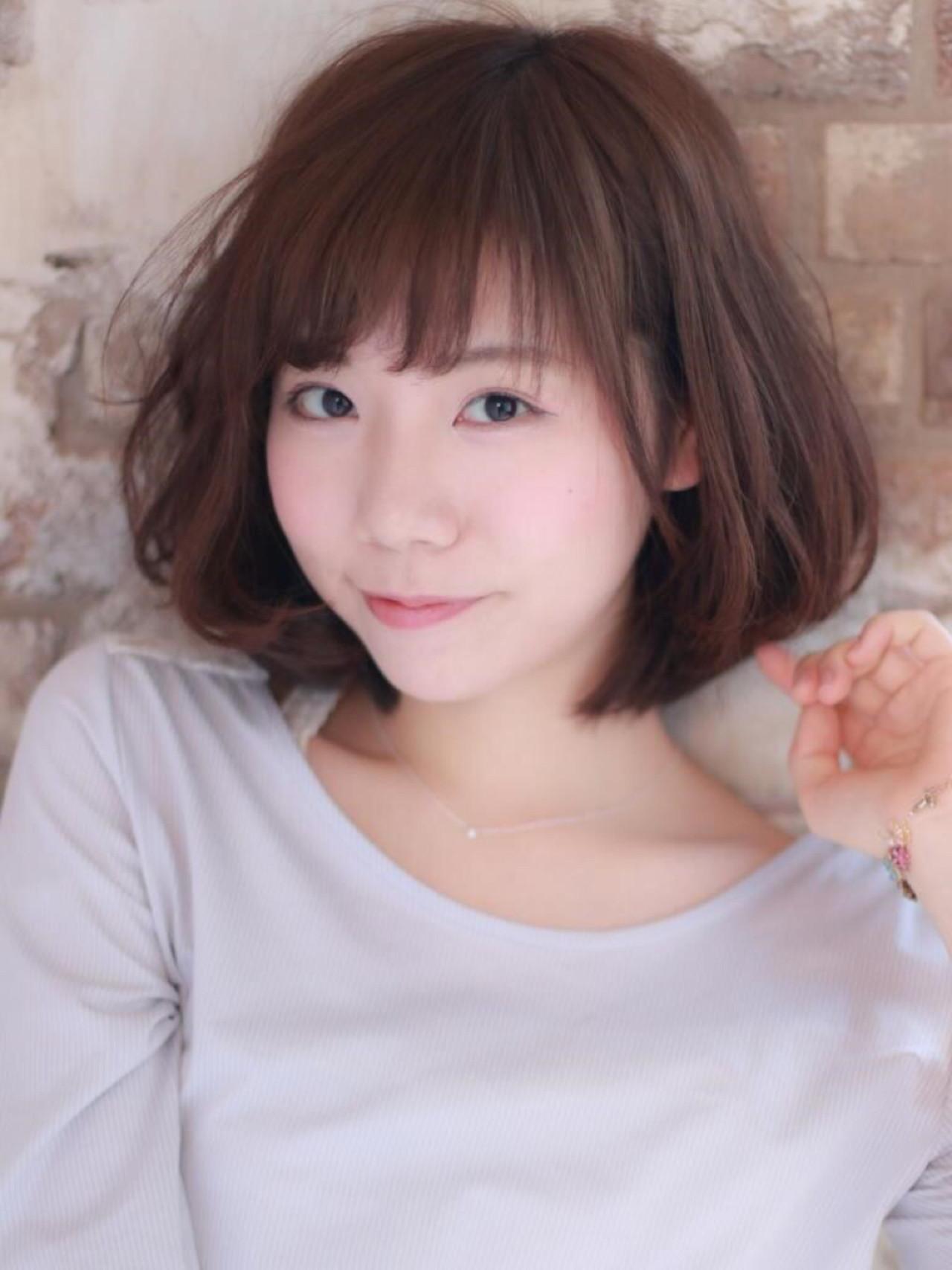 こなれ感 ナチュラル フェミニン 小顔 ヘアスタイルや髪型の写真・画像 | risa /