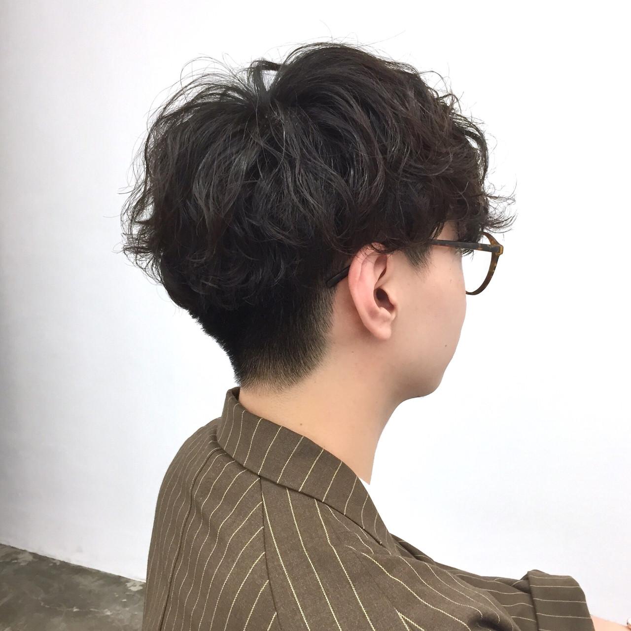 フェミニン メンズヘア メンズカット メンズ ヘアスタイルや髪型の写真・画像