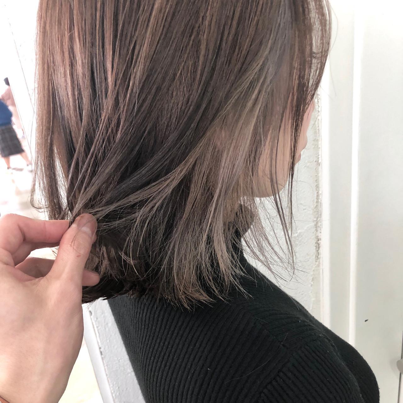 ゆるふわ ヘアアレンジ ボブ デート ヘアスタイルや髪型の写真・画像