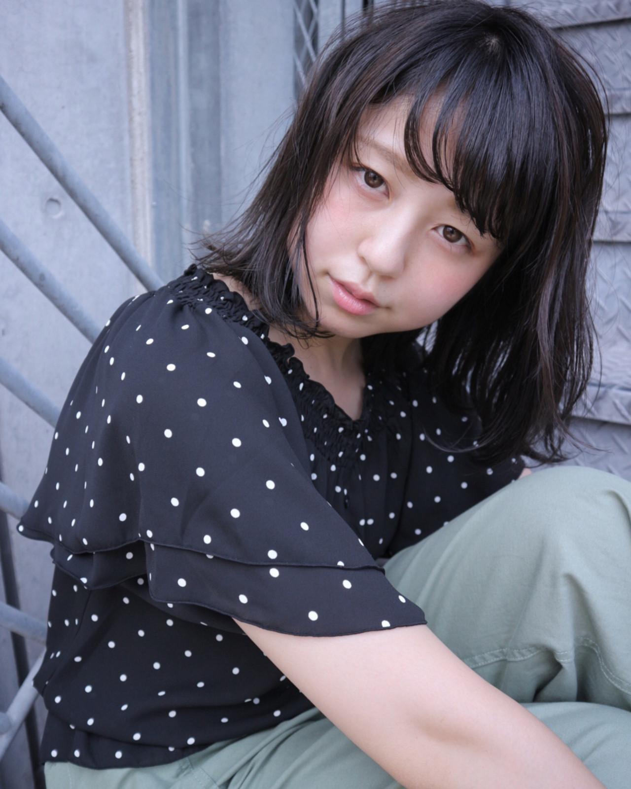 こなれ感 大人女子 ボブ ニュアンス ヘアスタイルや髪型の写真・画像   Takashi Tetone / SHIKIO HAIR DESIGN