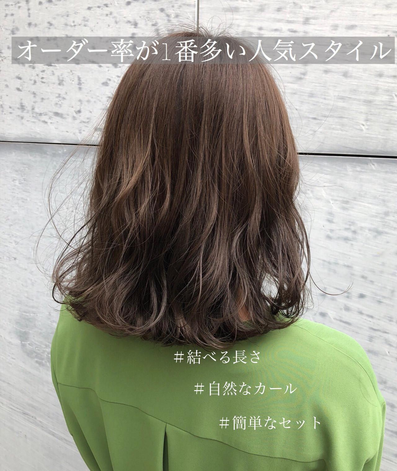髪 多い ミディアム