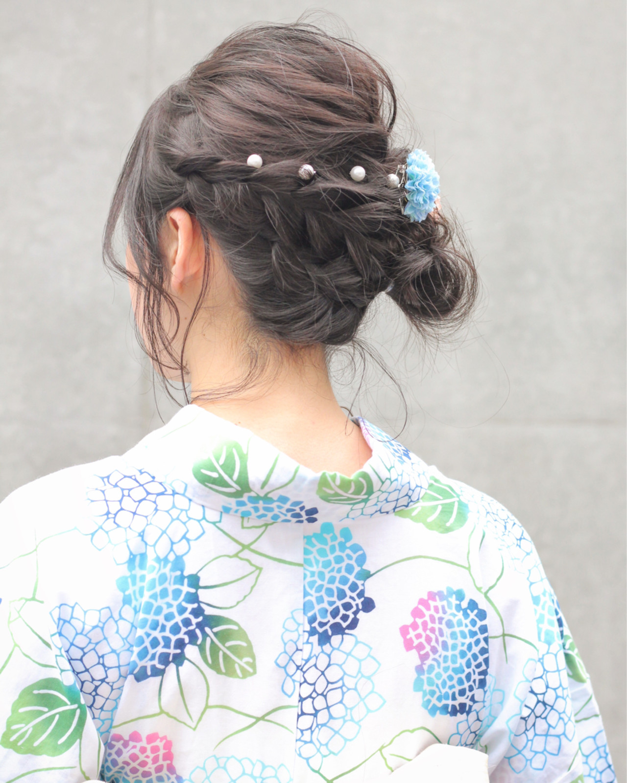 涼しげ アウトドア ヘアアレンジ 簡単ヘアアレンジ ヘアスタイルや髪型の写真・画像 | Wataru Maeda / cache cache