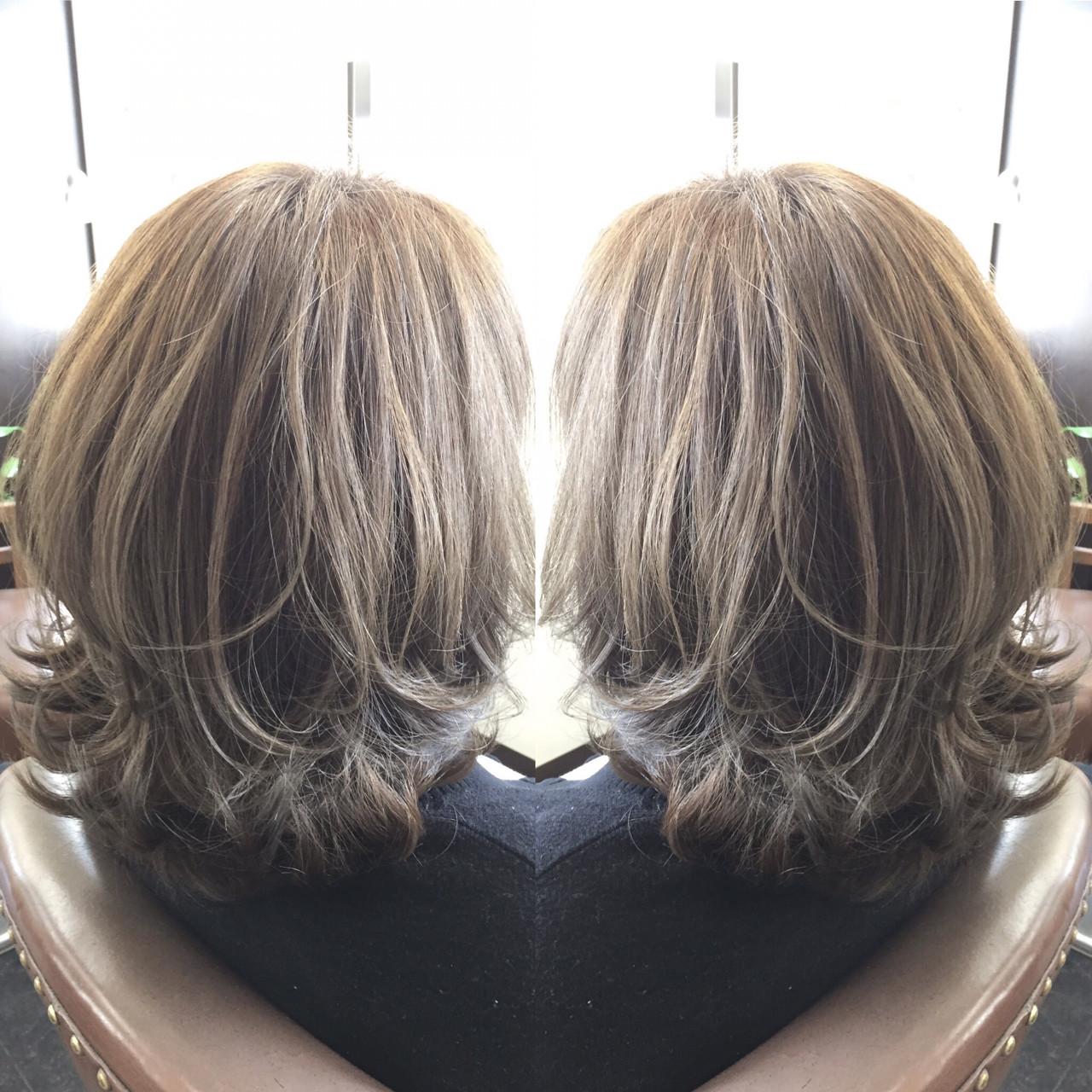 かわいい 外国人風 ボブ ミディアム ヘアスタイルや髪型の写真・画像
