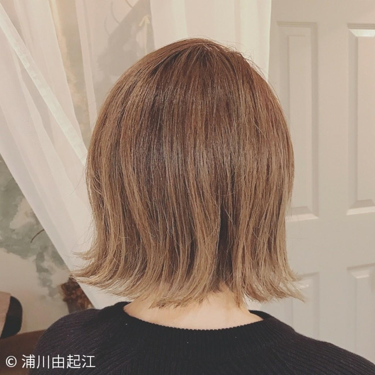 大人かわいい ハイライト デート ナチュラル ヘアスタイルや髪型の写真・画像