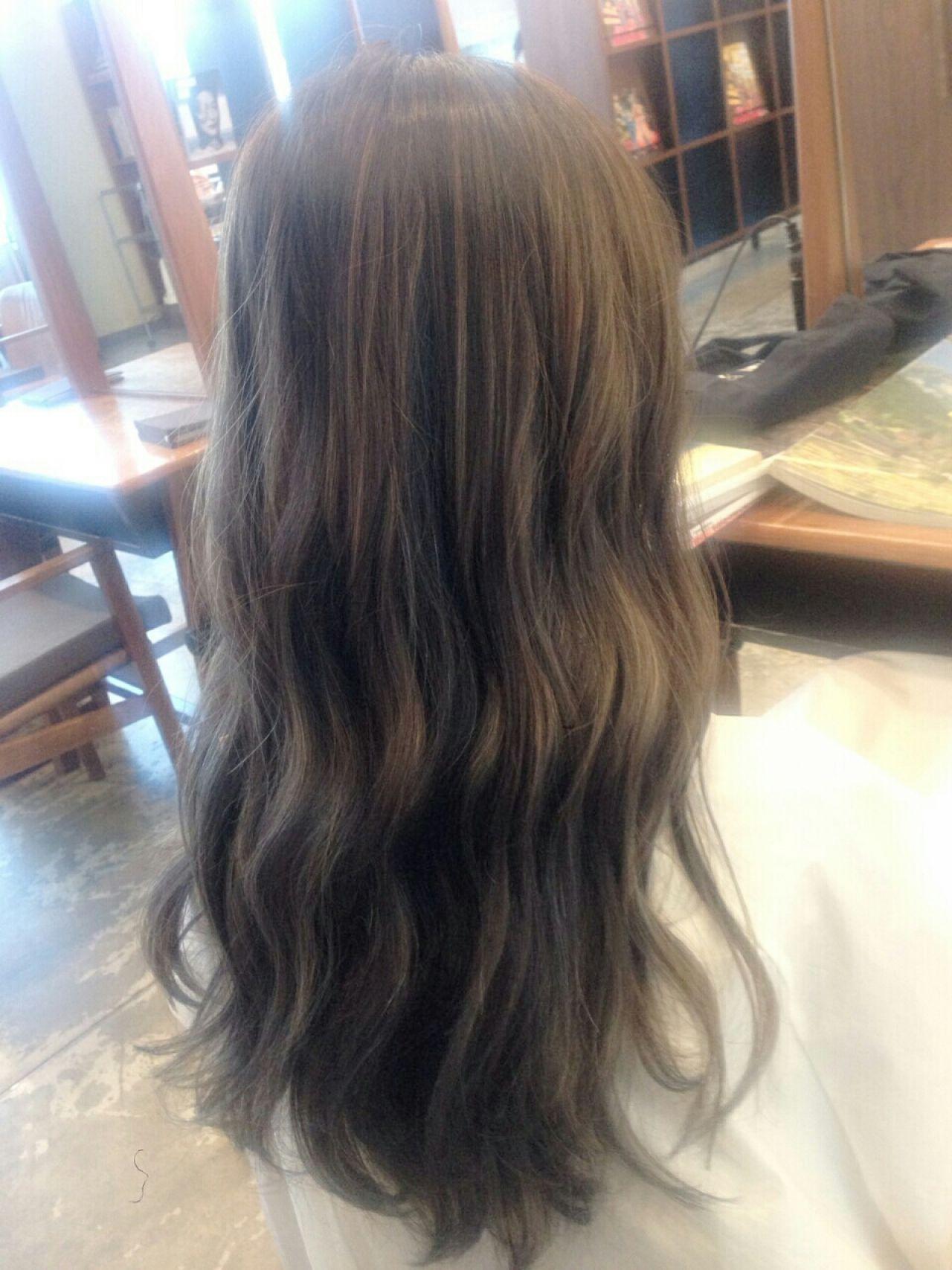 アッシュ ストリート 外国人風 グラデーションカラー ヘアスタイルや髪型の写真・画像 | 北村 亮 / LAiLY by GARDEN