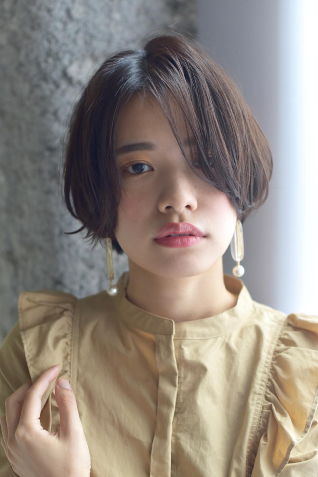 こなれ感 秋 透明感 小顔 ヘアスタイルや髪型の写真・画像   甫本 拓海 /Fier / Fier