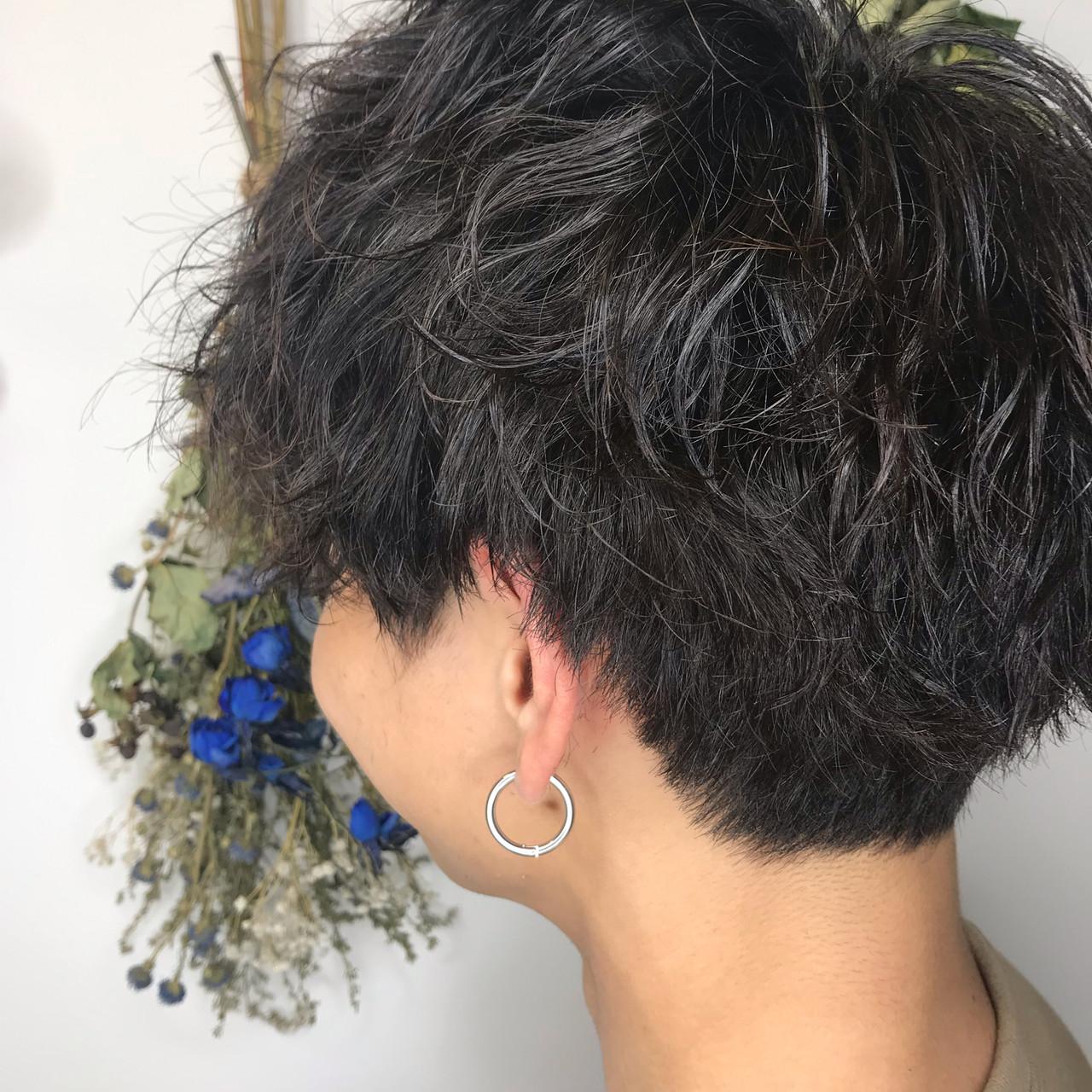 メンズカット ショート ツイスト ストリート ヘアスタイルや髪型の写真・画像 | 坂本高秀 / CHIANTI梅田