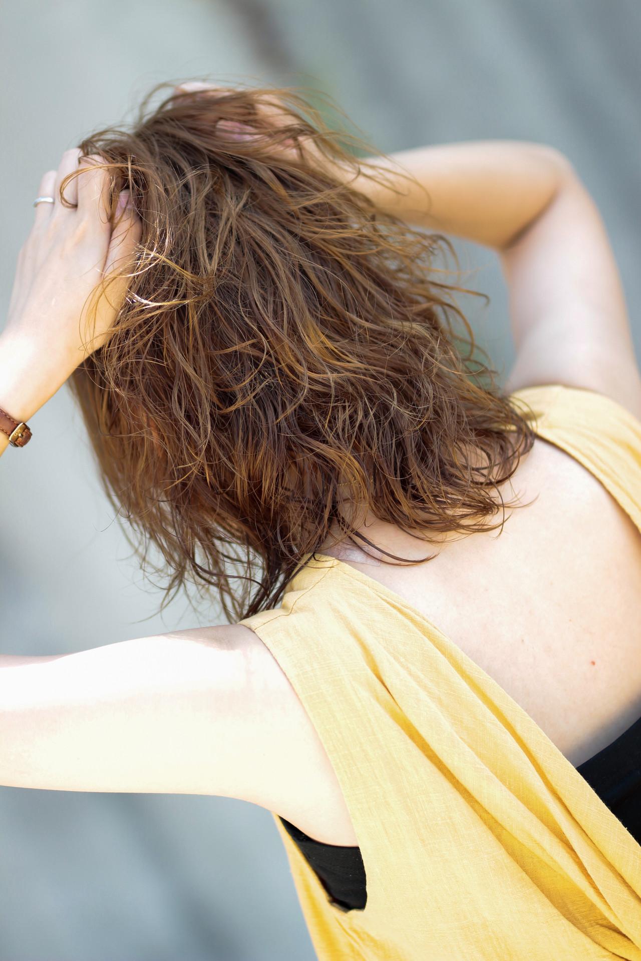 ゆるふわセット 毛先パーマ 無造作パーマ デジタルパーマ ヘアスタイルや髪型の写真・画像