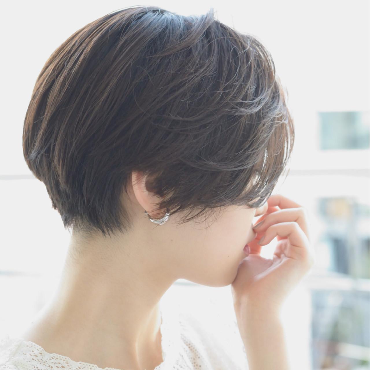 外国人風 ボブ 大人かわいい ナチュラル ヘアスタイルや髪型の写真・画像 | 常盤 大地 / butterflyバタフライ