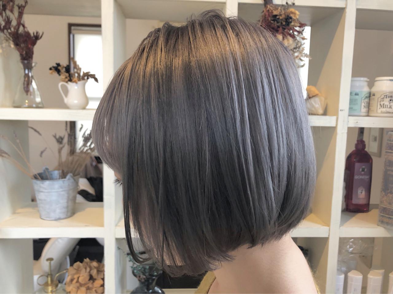 ミニボブ ストリート モテボブ ボブ ヘアスタイルや髪型の写真・画像 | ニシモリ ショウヘイ / 583koyomi