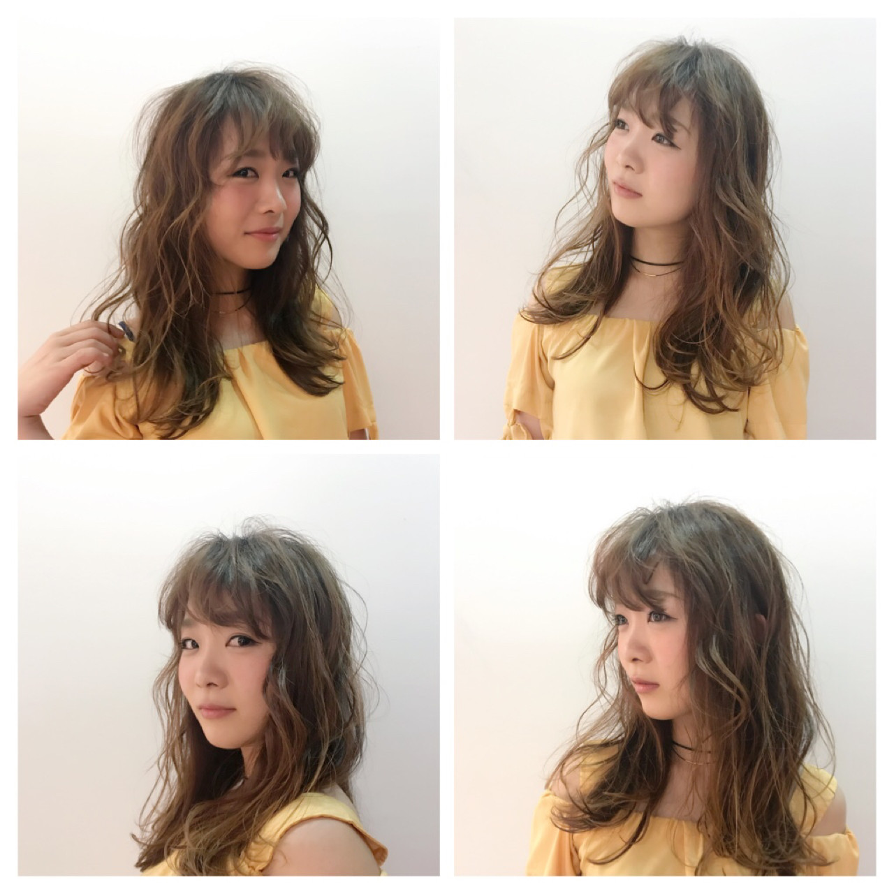 ガーリー 冬 デート セミロング ヘアスタイルや髪型の写真・画像 | Ishibashi Kazuyuki / TriumpH 【トライアンフ】