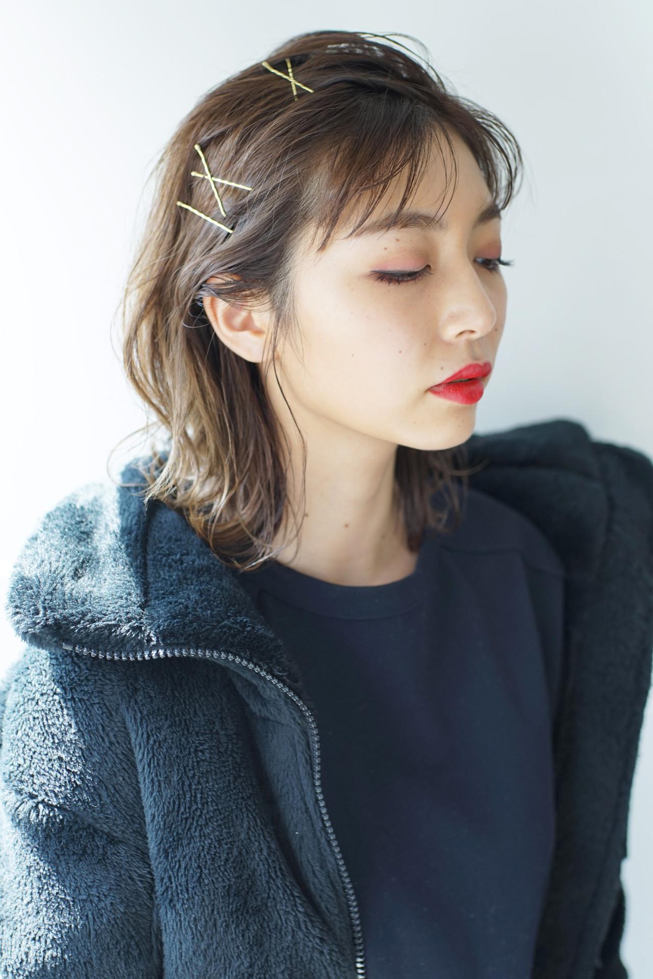 ストリート 黒髪 簡単ヘアアレンジ パーマ ヘアスタイルや髪型の写真・画像 | 掛橋 翔 / air-FUKUOKA