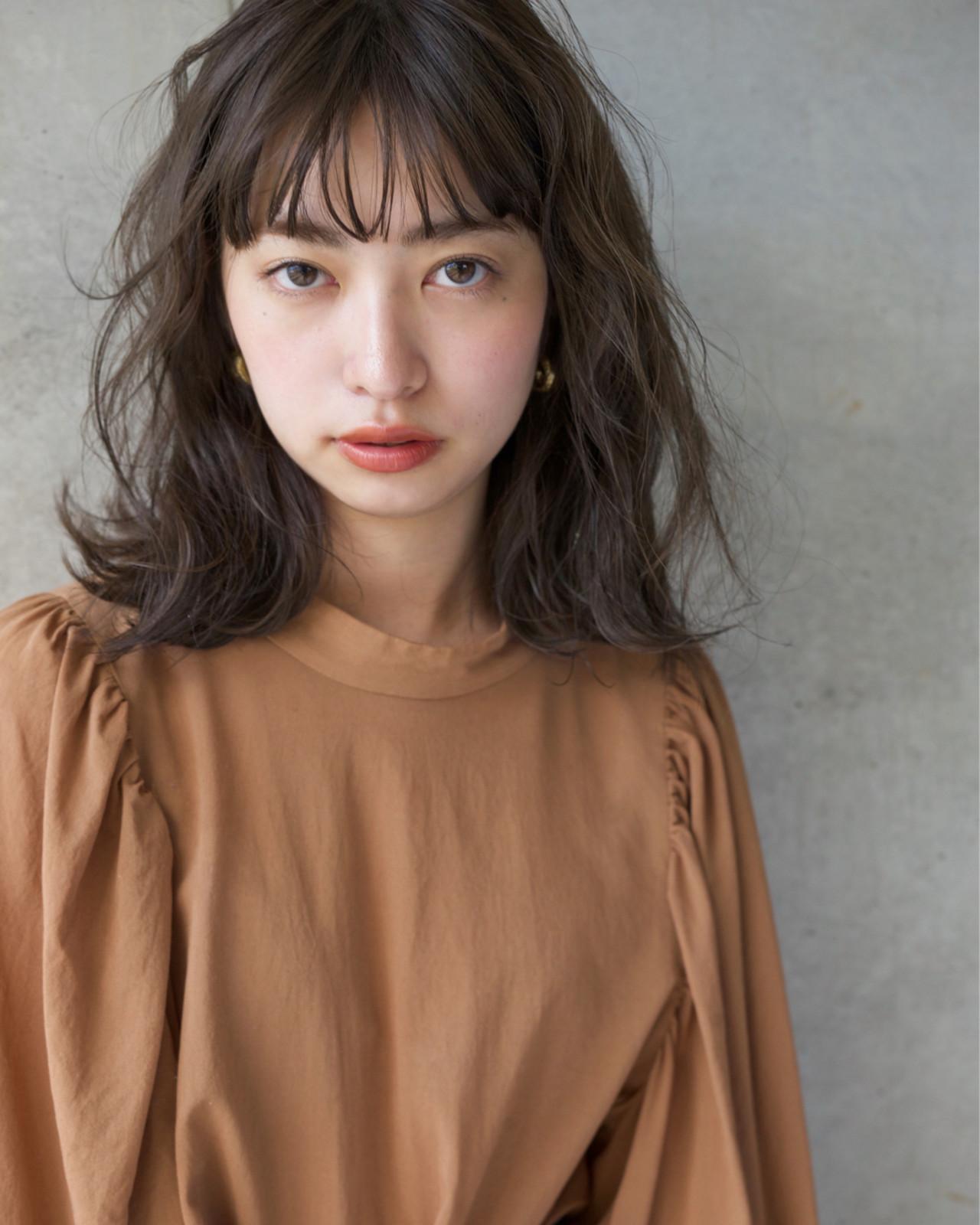 ショート 女子力 ミディアム 小顔 ヘアスタイルや髪型の写真・画像