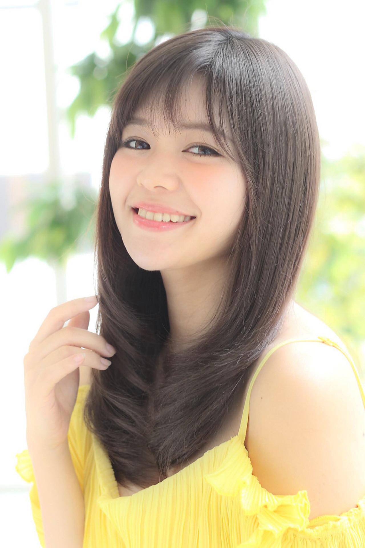 愛され コンサバ ミディアム モテ髪 ヘアスタイルや髪型の写真・画像 | HROKI(上遠野 裕樹) / Agnos青山